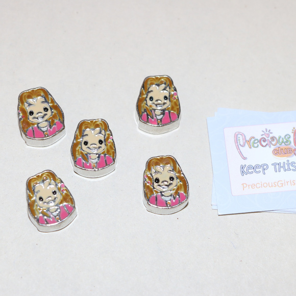 Precious Moments Other - Precious Moments Beads Crafts Lot of 5 Girl Beads